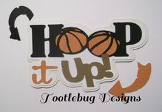 TOOTLEBUG DESIGNS - Hoop it Up paper piecing for scrapbook pages