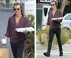 2 best things in the world: Stylrs and pizza!!!