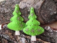 Купить елочки №2 - разноцветный, елочные игрушки, елочные украшения, елочная игрушка, елка, елочка