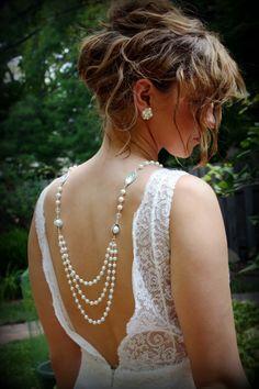 Wedding jewelry designed by Dream Day Designs