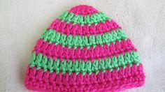Pink Preemie Hat Crochet Preemie Heart Hat by TheFlyButterFactory, $7.00
