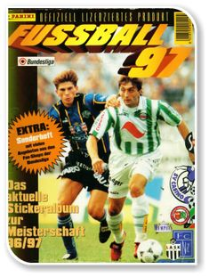 Fussball Osterreichische Bundesliga 1996-1997 Album, Ronald Mcdonald, Comic Books, Austria, Cover, Fictional Characters, Trading Cards, Football Soccer, Drawing Cartoons