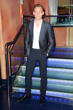 Tom Hiddleston attends Much Ado About Nothing premiere