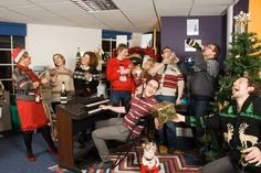 Christmas at Carswell Gould marketing communications agency in Southampton