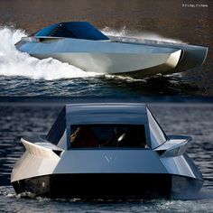 Top 10 Craziest Future Boat Designs  - Have you ever spent sometimes harbor only to notice that boats seem to look alike or lack any sense of uniqueness at all? If you are tired of the cook... -  The Code X Yacht .