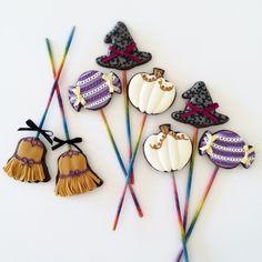 神戸アイシングクッキーレッスン【fiocco】: 魔女のクッキーポップス♪
