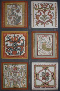 Turista Magazin - Isten hajlékának festett mennyei Hand Painted Furniture, Tiles, Gallery Wall, Embroidery, Frame, Creative, Blanket, Home Decor, Impressionism