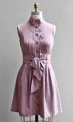 Pleats and Grommets Dress.   http://www.shopsubstance.com/