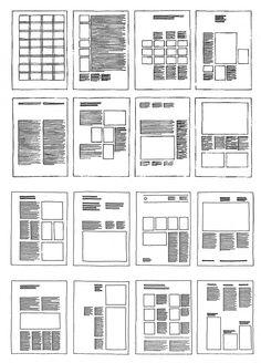 L'utilizzo delle griglie in Graphic e Web Design Web Design Trends, Design Web, Web Design Tutorial, Page Layout Design, Magazine Layout Design, Website Design, Book Layout, Grid Design, Graphic Design Layouts