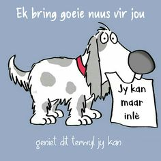 Afrikaanse Quotes, Goeie Nag, Goeie More, Morning Messages, Interesting Stuff, Animal Photography, Good Morning, Cute Pictures, Me Quotes