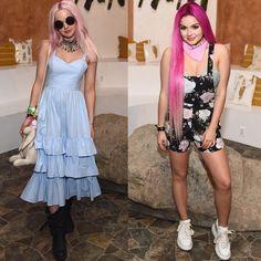 #DoveCameron and #ArielWinter Coachella 2017 looks