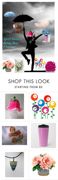 """April Showers Bring May Flowers!"" by missy69-etsy ❤ liked on Polyvore featuring Nancy Gonzalez and FriendsRUs"