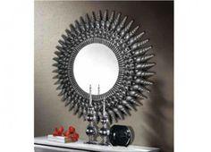 Espejo Omega en color plata