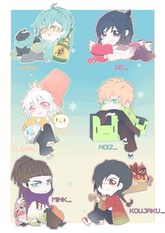 aobaseragaki69 Nitro Chiral, Dramatical Murder, Cute Comics, Anime Comics, Making Out, Haikyuu, Otaku, Chibi, Animation