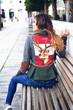 Frauen Jacken, Blazer & Mäntel - Trachten Jacken Mirabell Plummer Blazer, Mantel, Classic, Tops, Fashion, Grey, Jackets, Derby, Moda