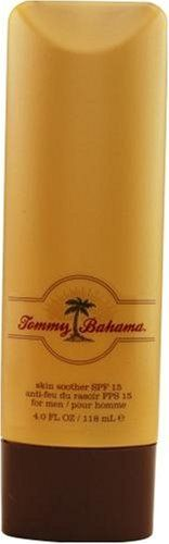 Tommy Bahama By Tommy Bahama For Men. Skin Soother Spf 15 4-Ounce by Tommy Bahama. Save 88 Off!. $4.87. Packaging for this product may vary from that shown in the image above. Launched by the design house of Tommy Bahama in 2005, TOMMY BAHAMA is a men's fragrance that possesses a blend of patchouli, bergamot, wood, vetiver, coriander, sage, and ginger root.  It is recommended for casual wear.