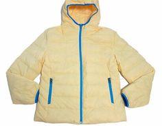 Bright Nylon Foldable Hoody Bomber Women Jacket