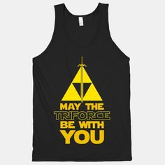 May The Triforce Be With You (tank)