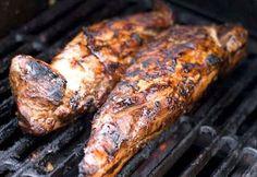 Cajun Delights: Cajun Grilled Pork Tenderloin w/ Bourbon-Mustard Glaze