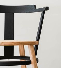 drill design reimagines the traditional windsor chair with an offset version