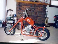 Cool Chopper Mini Bike !