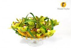Centerpiece with orchids ~ Pim van den Akker