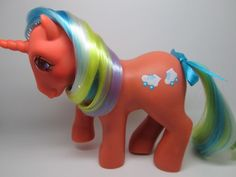 Vintage MLP- My Little Pony G-1- Hasbro- SPEEDY- TE- Twinkle Eyed- FLAWED!!
