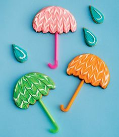 Umbrella cookies :-)