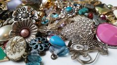 Jewelry Bits -  Pendants and Charms for your Creations, some vintage