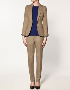 This is a perfect example of an office outfit or #interview attire - @Zara_US