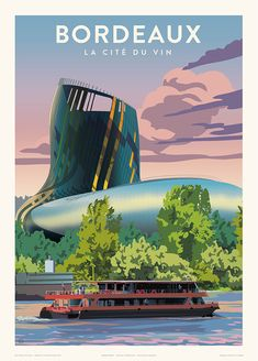 Image Categories, Vintage Travel Posters, Vintage Art, Northern Lights, Wall Art, City, World, Photography, Rooftops