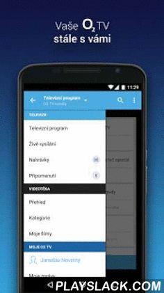 O2 TV  Android App - playslack.com ,  Nejlepší digitální TV nyní i v mobilu a tabletu- Živé vysílání více než stovky TV kanálů s funkcí zpětného zhlédnutí pro O2 TV zákazníky- Vzdálené nahrávání a přehrávání pořadů v O2 TV - Výběr z více než 700 filmů k okamžitému přehrání v O2 Videotéce – legálně!Přístup k živému vysílání a správě nahraných pořadů O2 TV je možné přes přihlášení do Moje O2 (O2 ID). Ostatní funkcionality můžete využívat bez nutnosti přihlášení.Aplikace O2 TV přináší:Přehledný…