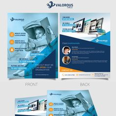 Design a compelling Marketing Flyer/Leave Behind for Web Design and SEO Firm by ACBTY™