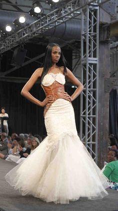 Steampunk wedding dress? I think yes.