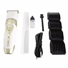 KM-1817 Professional Household Salon Use Rechargeable Electric Trimmer Hair Clipper Cutter Hair Dress Tools Hot New #Affiliate