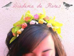 Flower Diadem / Diadema de Flores