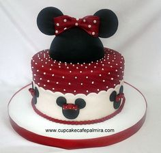 Minie Mouse Red Cake