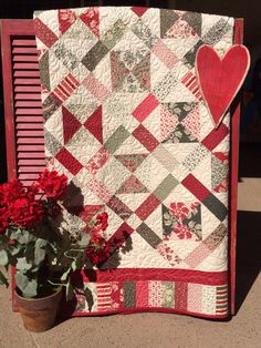 French General fabrics Petite Four Quilt Kit by myreddoordesigns, $75.00