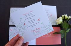Wedding Stationery — Wedding Invitations Little Paper Store Wedding Invitation Templates, Wedding Stationery, Wedding Invitations, Love Birds Wedding, Paper Store, Garden Wedding, Thank You Cards, Landscape Design, Your Cards