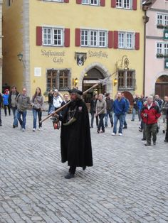 The Night Watchman – the most followed man in Germany! Rothenburg ob der Tauber