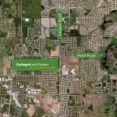 The new hospital will be located at Haligus Road and Reed Road in Huntley.