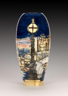 Moorcroft Pottery - London by Paul Hilditch