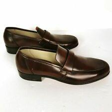 Dacks Mens Shoes Loafer Slipon Brown Size 10.5 B Leather Upper Soles #mensfashion $99.99