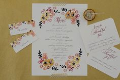 Free Printable: Thanksgiving place cards, menu and thankfulness cards