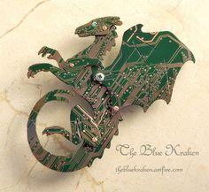 pern+circuit+board+dragon+by+thebluekraken.deviantart.com+on+@deviantART