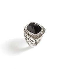 With its exquisitely cut black rhinestone center, the Clodagh is a stunning and versatile masterpiece.