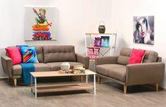 ΔΙΑΦΑΝΟ - Καναπές διθέσιος VALENCE Sofa, Couch, Furniture, Home Decor, Homemade Home Decor, Settee, Couches, Home Furnishings, Sofas
