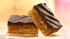 Chewy Chocolate Peanut Butter Bars (from Pillsbury)