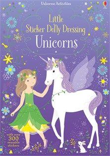 EBook Little Sticker Dolly Dressing Unicorns Author Fiona Watt and Lizzie Mackay Unicorn Books, Unicorn Gifts, Unicorn Birthday Parties, Unicorn Party, La Petite Taupe, Fiona Watt, Unicorn Stickers, Pink Drinks, Painted Books