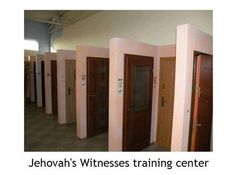 Jehovah's witness training center